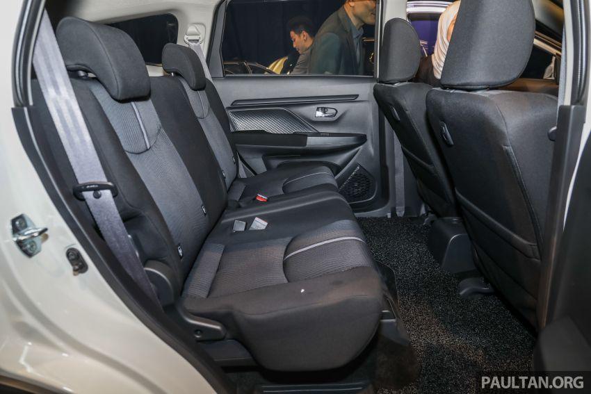 Perodua Aruz dilancar – dua varian, tujuh tempat duduk, 1.5L, ASA 2.0, harga RM72,900 dan RM77,900 Image #911342