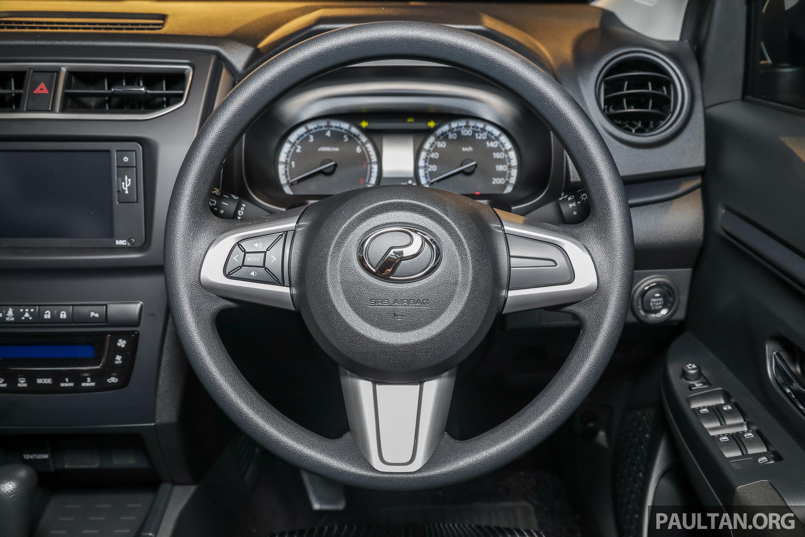 Perodua Aruz dilancar – dua varian, tujuh tempat duduk, 1