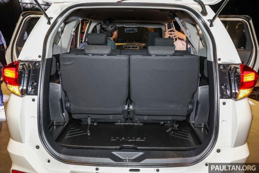 Perodua Aruz dilancar – dua varian, tujuh tempat duduk, 1.5L, ASA 2.0, harga RM72,900 dan RM77,900 Image #911362