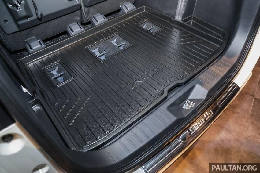 Perodua Aruz dilancar – dua varian, tujuh tempat duduk, 1.5L, ASA 2.0, harga RM72,900 dan RM77,900 Image #911368