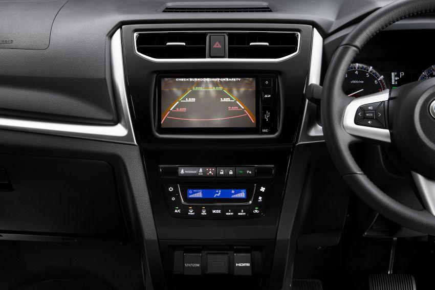 Perodua Aruz dilancar – dua varian, tujuh tempat duduk, 1.5L, ASA 2.0, harga RM72,900 dan RM77,900 Image #910997