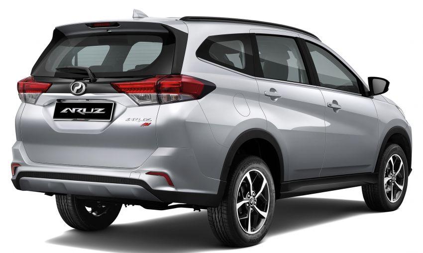 Perodua Aruz dilancar – dua varian, tujuh tempat duduk, 1.5L, ASA 2.0, harga RM72,900 dan RM77,900 Image #910987