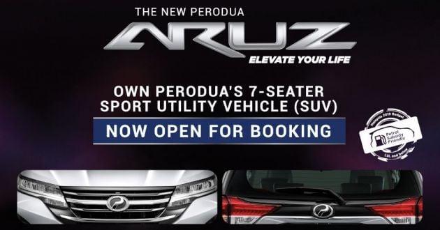 Perodua Aruz - beza spesifikasi dengan Honda BR-V, Toyota