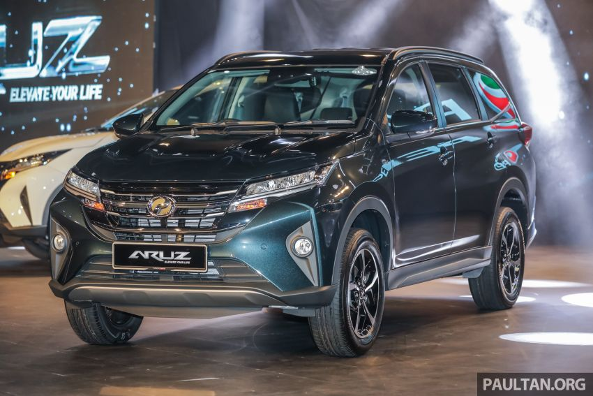 2019 Perodua Aruz SUV launched in Malaysia – seven seats; ASA 2.0; two variants; RM72,900 and RM77,900 Image #911441