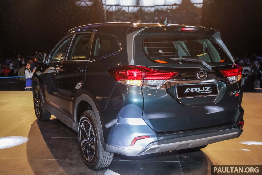 2019 Perodua Aruz SUV launched in Malaysia – seven seats; ASA 2.0; two variants; RM72,900 and RM77,900 Image #911443