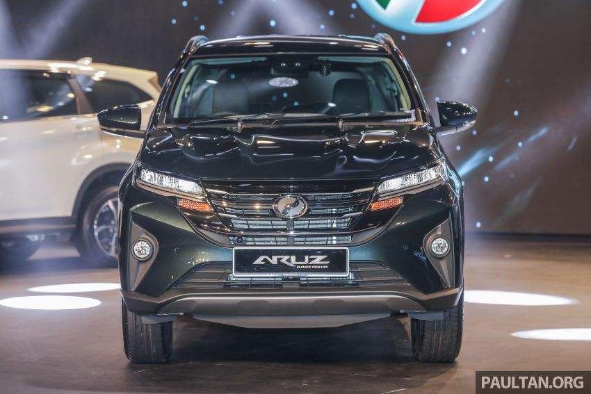 2019 Perodua Aruz SUV launched in Malaysia – seven seats; ASA 2.0; two variants; RM72,900 and RM77,900 Image #911445