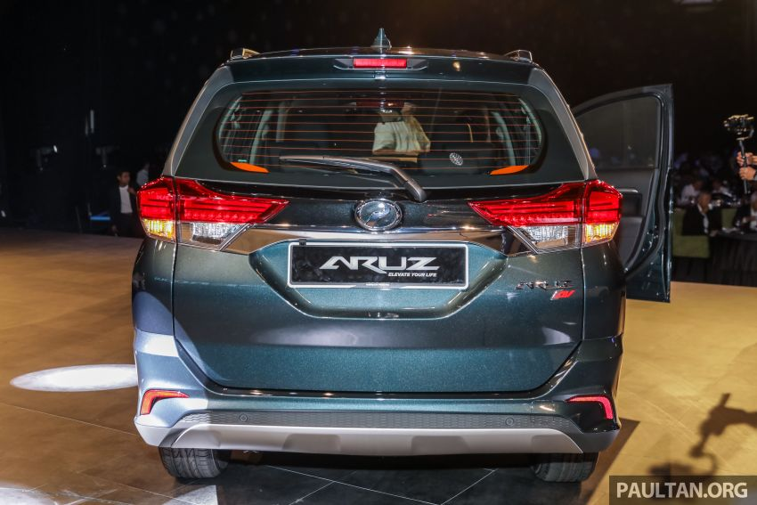 2019 Perodua Aruz SUV launched in Malaysia – seven seats; ASA 2.0; two variants; RM72,900 and RM77,900 Image #911447