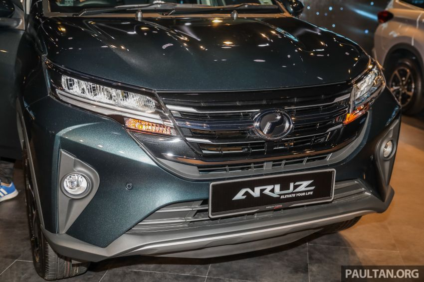 2019 Perodua Aruz SUV launched in Malaysia – seven seats; ASA 2.0; two variants; RM72,900 and RM77,900 Image #911449
