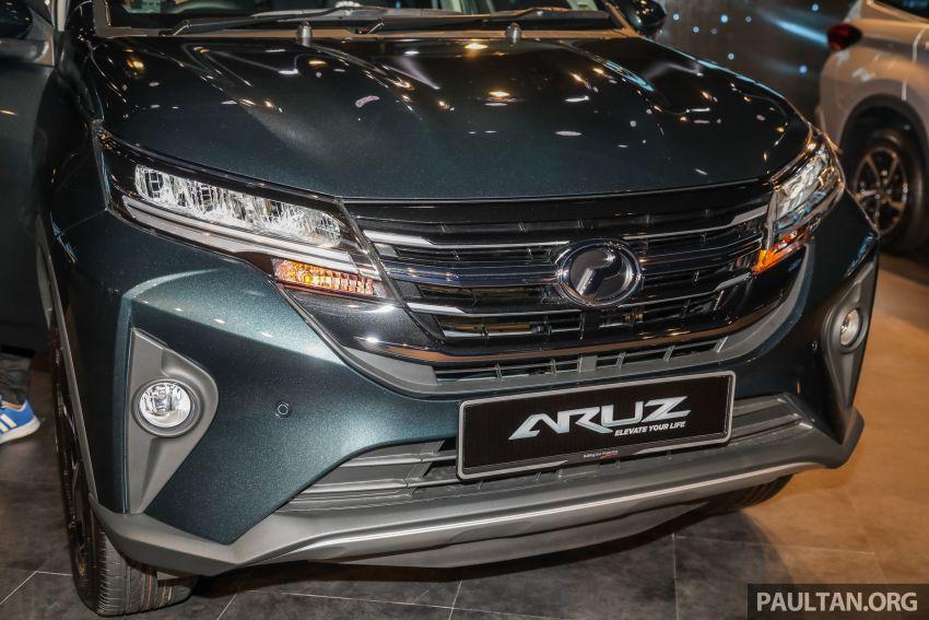 Perodua Aruz dilancar – dua varian, tujuh tempat duduk, 1.5L, ASA 2.0, harga RM72,900 dan RM77,900 Image #911517