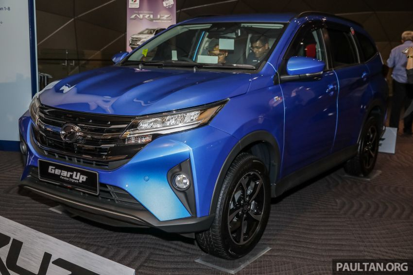 2019 Perodua Aruz SUV launched in Malaysia – seven seats; ASA 2.0; two variants; RM72,900 and RM77,900 Image #911470