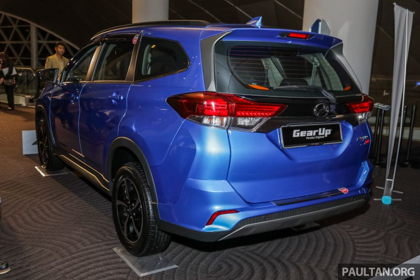 2019 Perodua Aruz SUV launched in Malaysia – seven seats; ASA 2.0; two variants; RM72,900 and RM77,900 Image #911471