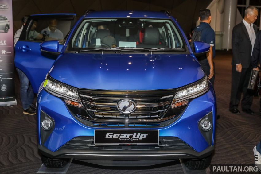 2019 Perodua Aruz SUV launched in Malaysia – seven seats; ASA 2.0; two variants; RM72,900 and RM77,900 Image #911474