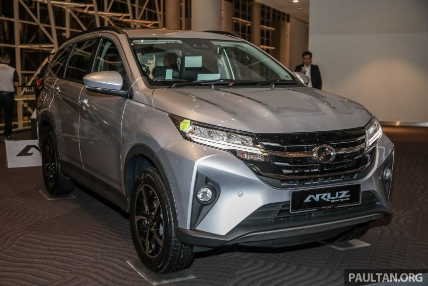 2019 Perodua Aruz SUV launched in Malaysia – seven seats; ASA 2.0; two variants; RM72,900 and RM77,900 Image #911432