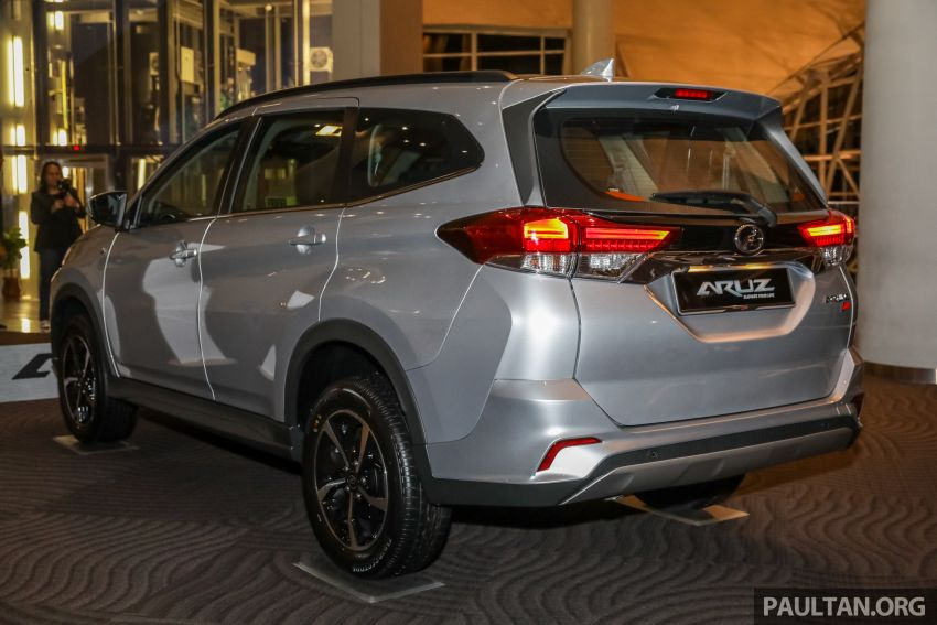 2019 Perodua Aruz SUV launched in Malaysia – seven seats; ASA 2.0; two variants; RM72,900 and RM77,900 Image #911433