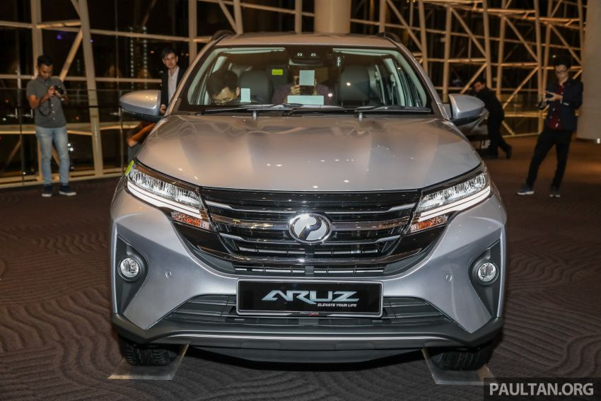 2019 Perodua Aruz SUV launched in Malaysia – seven seats; ASA 2.0; two variants; RM72,900 and RM77,900 Image #911435