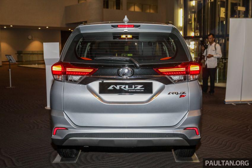 Perodua Aruz dilancar – dua varian, tujuh tempat duduk, 1.5L, ASA 2.0, harga RM72,900 dan RM77,900 Image #911521