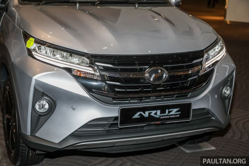 2019 Perodua Aruz SUV launched in Malaysia – seven seats; ASA 2.0; two variants; RM72,900 and RM77,900 Image #911439