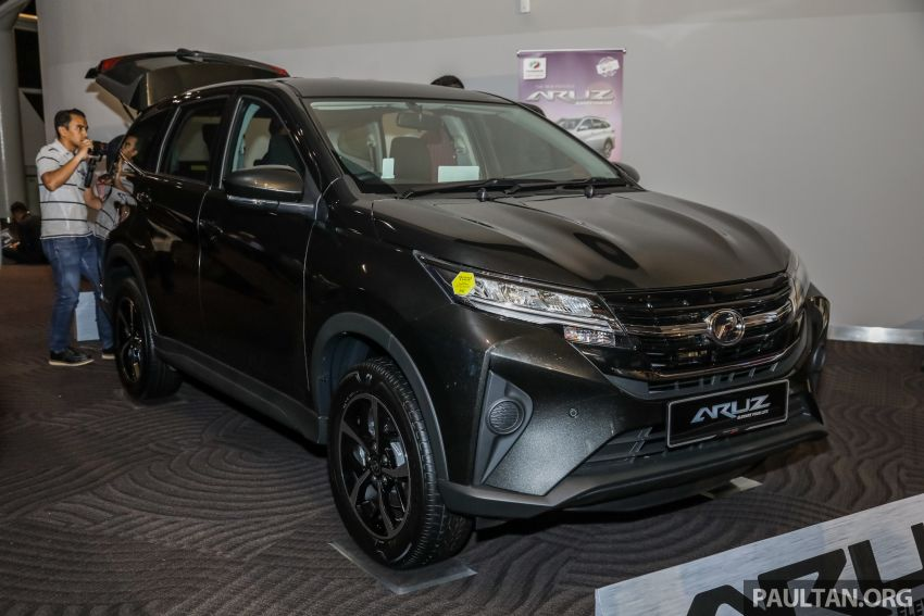 2019 Perodua Aruz SUV launched in Malaysia – seven seats; ASA 2.0; two variants; RM72,900 and RM77,900 Image #911481