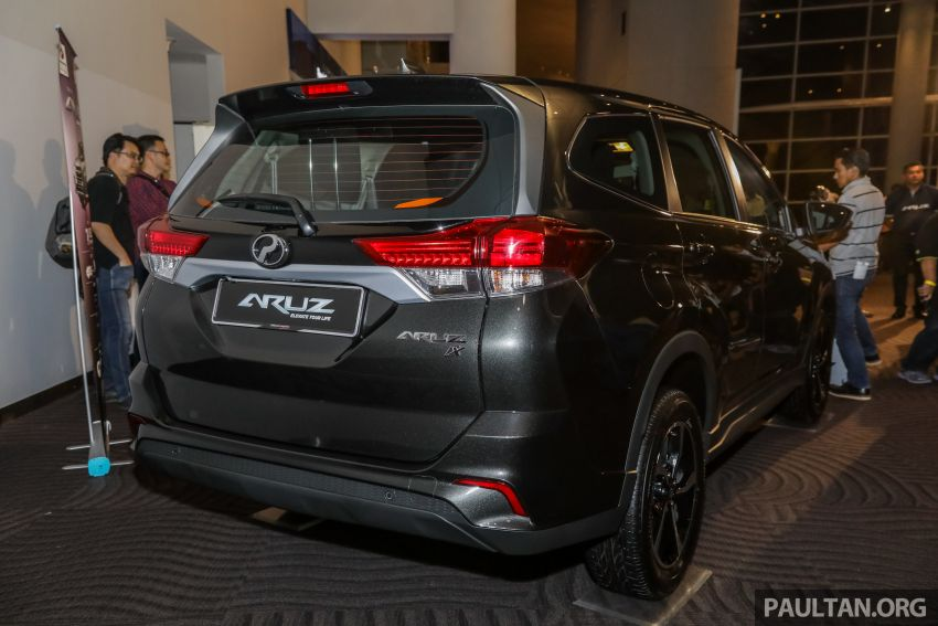 2019 Perodua Aruz SUV launched in Malaysia – seven seats; ASA 2.0; two variants; RM72,900 and RM77,900 Image #911483