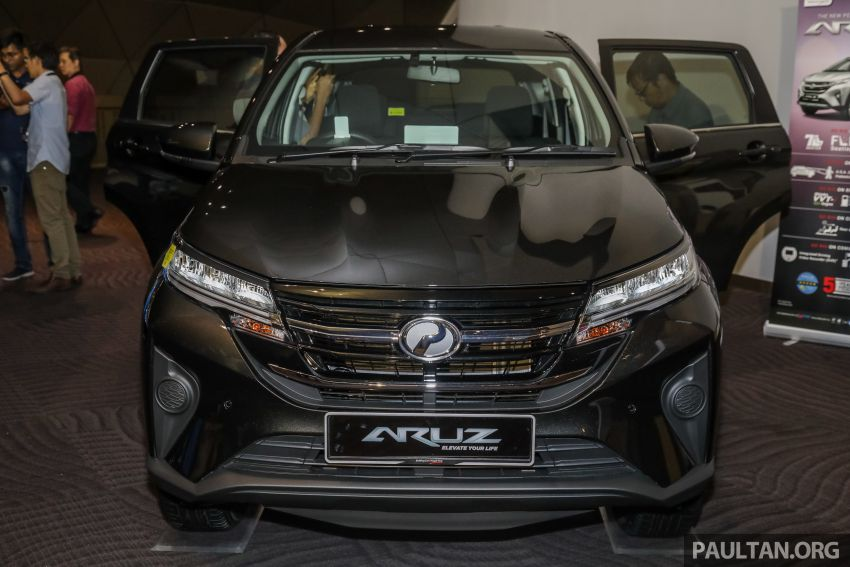 2019 Perodua Aruz SUV launched in Malaysia – seven seats; ASA 2.0; two variants; RM72,900 and RM77,900 Image #911485