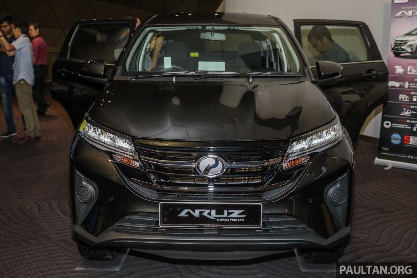 Perodua Aruz dilancar – dua varian, tujuh tempat duduk, 1.5L, ASA 2.0, harga RM72,900 dan RM77,900 Image #911532