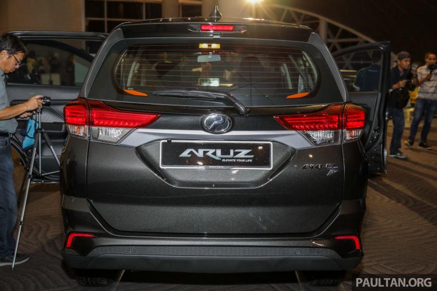 Perodua Aruz dilancar – dua varian, tujuh tempat duduk, 1.5L, ASA 2.0, harga RM72,900 dan RM77,900 Image #911528