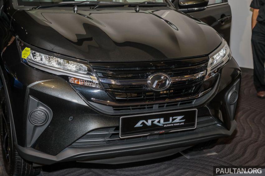 Perodua Aruz dilancar – dua varian, tujuh tempat duduk, 1.5L, ASA 2.0, harga RM72,900 dan RM77,900 Image #911529