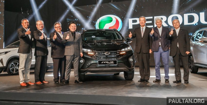 2019 Perodua Aruz SUV launched in Malaysia – seven seats; ASA 2.0; two variants; RM72,900 and RM77,900 Image #911430