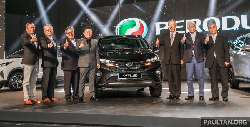 Perodua Aruz dilancar – dua varian, tujuh tempat duduk, 1.5L, ASA 2.0, harga RM72,900 dan RM77,900 Image #911503