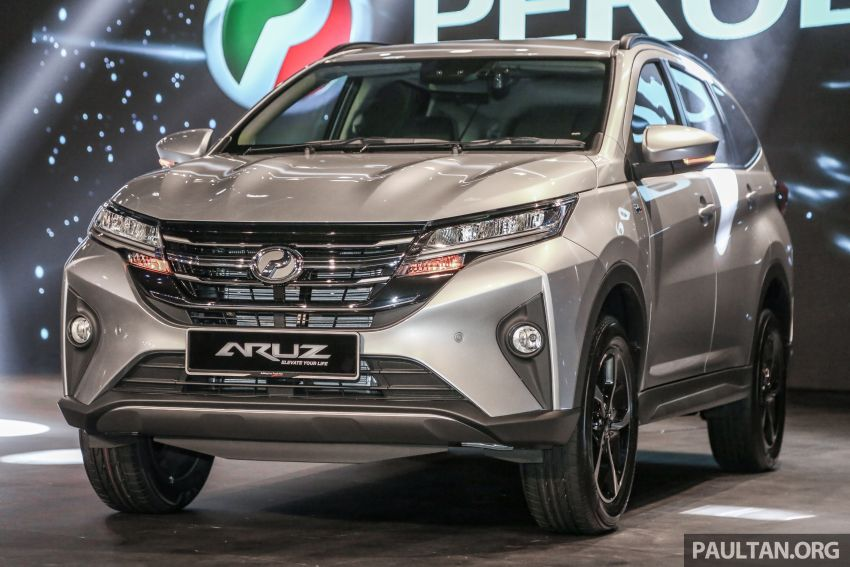 2019 Perodua Aruz SUV launched in Malaysia – seven seats; ASA 2.0; two variants; RM72,900 and RM77,900 Image #911299