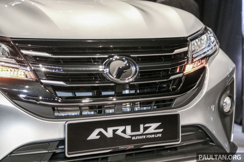 2019 Perodua Aruz SUV launched in Malaysia – seven seats; ASA 2.0; two variants; RM72,900 and RM77,900 Image #911330