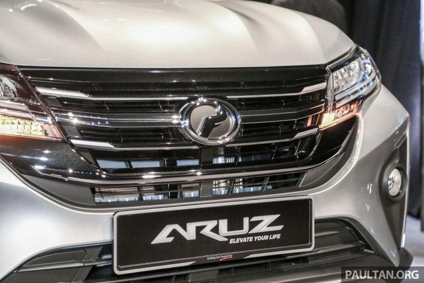 Perodua Aruz dilancar – dua varian, tujuh tempat duduk, 1.5L, ASA 2.0, harga RM72,900 dan RM77,900 Image #911412