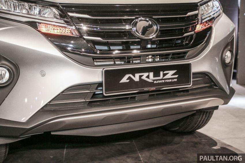 Perodua Aruz dilancar – dua varian, tujuh tempat duduk, 1.5L, ASA 2.0, harga RM72,900 dan RM77,900 Image #911414