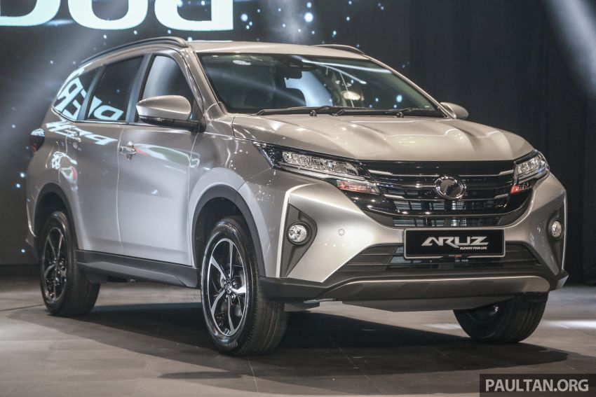 2019 Perodua Aruz SUV launched in Malaysia – seven seats; ASA 2.0; two variants; RM72,900 and RM77,900 Image #911303