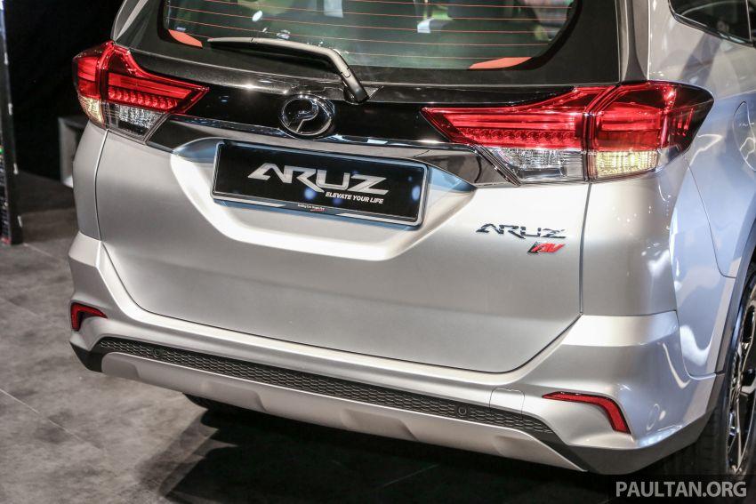 Perodua Aruz dilancar – dua varian, tujuh tempat duduk, 1.5L, ASA 2.0, harga RM72,900 dan RM77,900 Image #911431