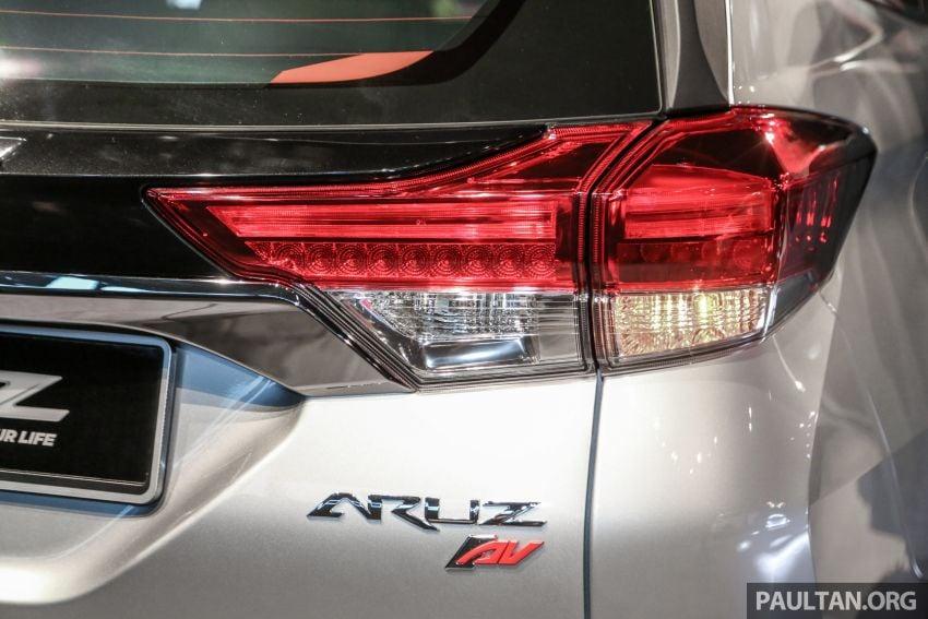 Perodua Aruz dilancar – dua varian, tujuh tempat duduk, 1.5L, ASA 2.0, harga RM72,900 dan RM77,900 Image #911434