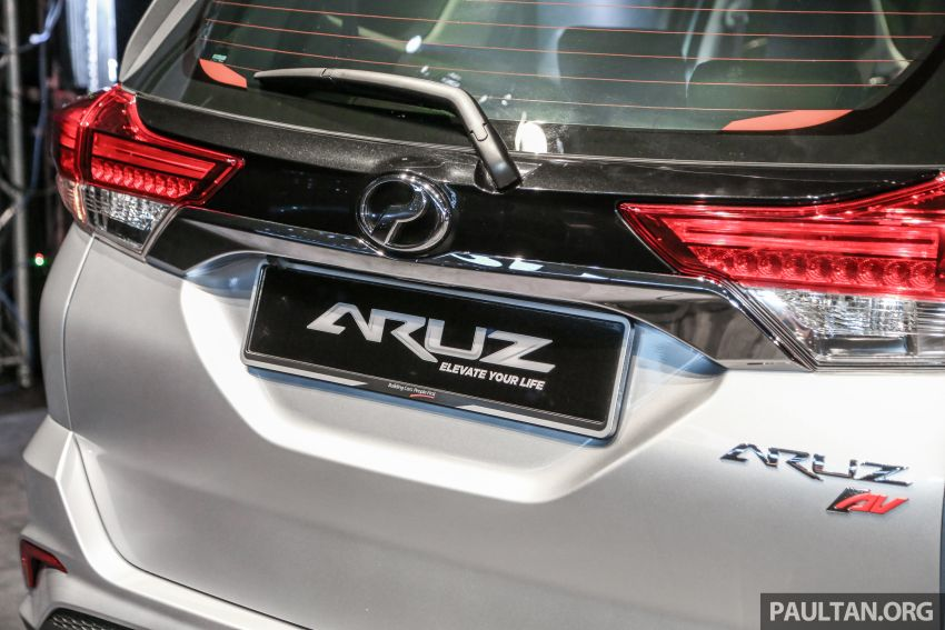 Perodua Aruz dilancar – dua varian, tujuh tempat duduk, 1.5L, ASA 2.0, harga RM72,900 dan RM77,900 Image #911442