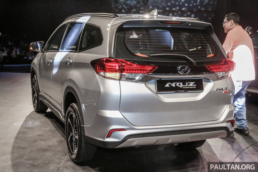 2019 Perodua Aruz SUV launched in Malaysia – seven seats; ASA 2.0; two variants; RM72,900 and RM77,900 Image #911307