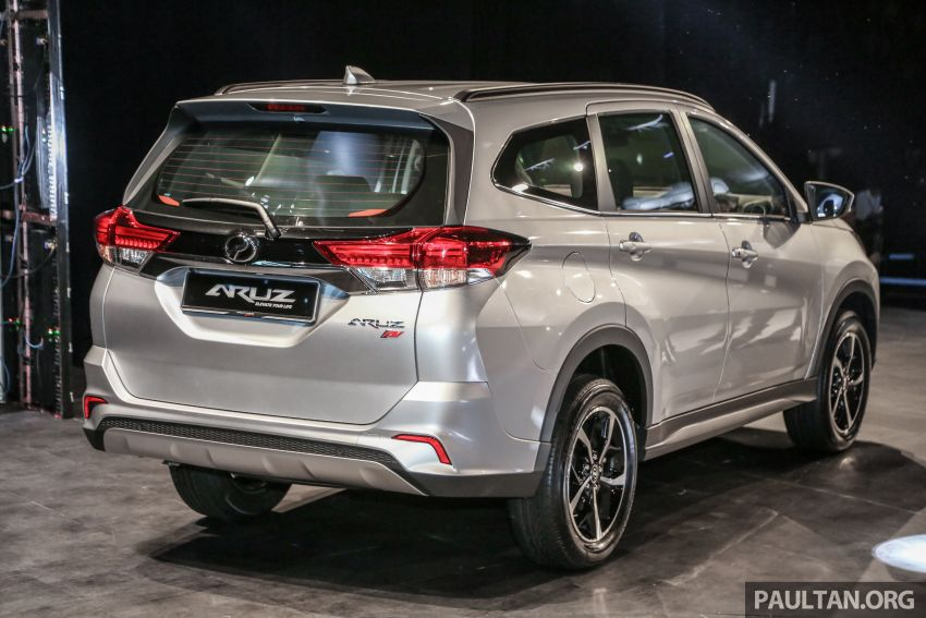 2019 Perodua Aruz SUV launched in Malaysia – seven seats; ASA 2.0; two variants; RM72,900 and RM77,900 Image #911310