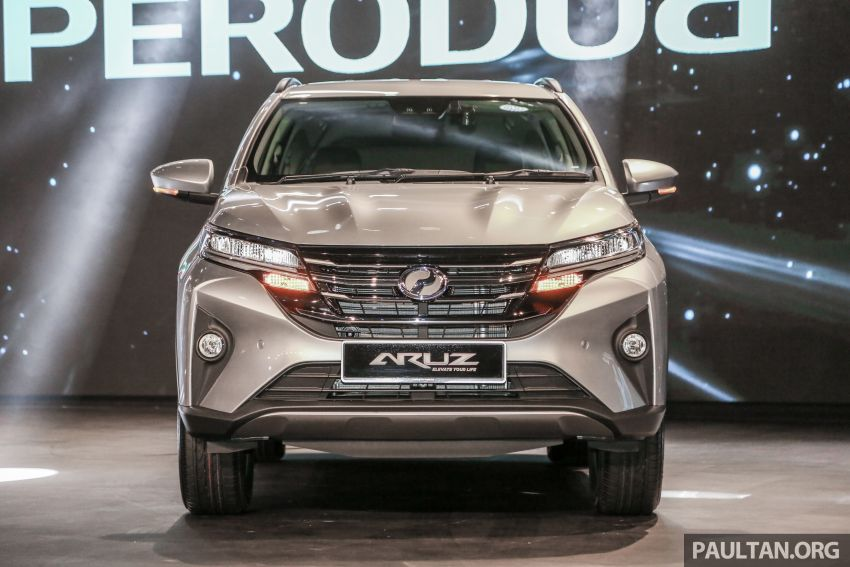 2019 Perodua Aruz SUV launched in Malaysia – seven seats; ASA 2.0; two variants; RM72,900 and RM77,900 Image #911314