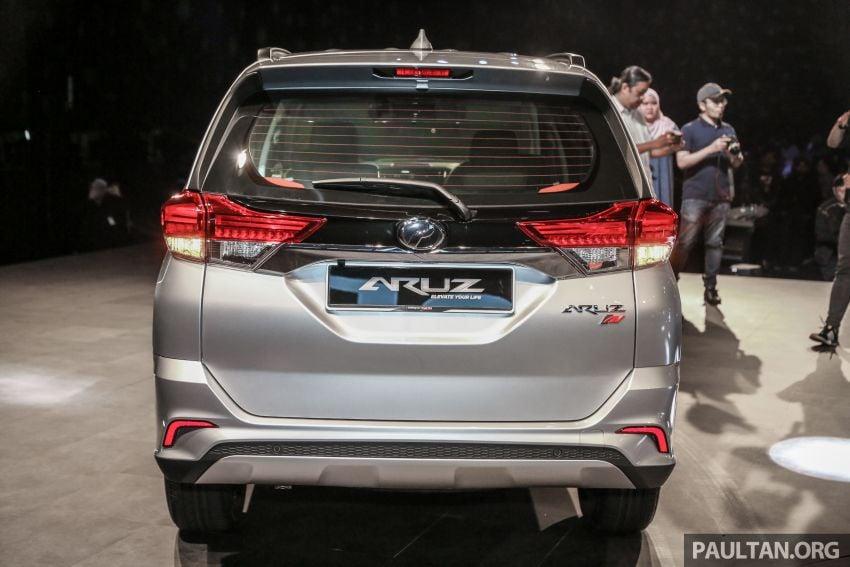 Perodua Aruz dilancar – dua varian, tujuh tempat duduk, 1.5L, ASA 2.0, harga RM72,900 dan RM77,900 Image #911401