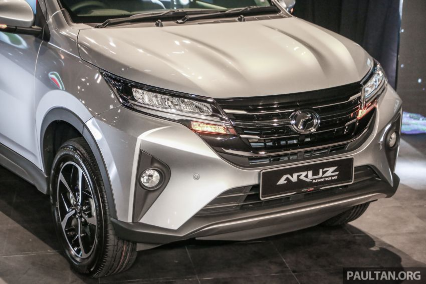 2019 Perodua Aruz SUV launched in Malaysia – seven seats; ASA 2.0; two variants; RM72,900 and RM77,900 Image #911319