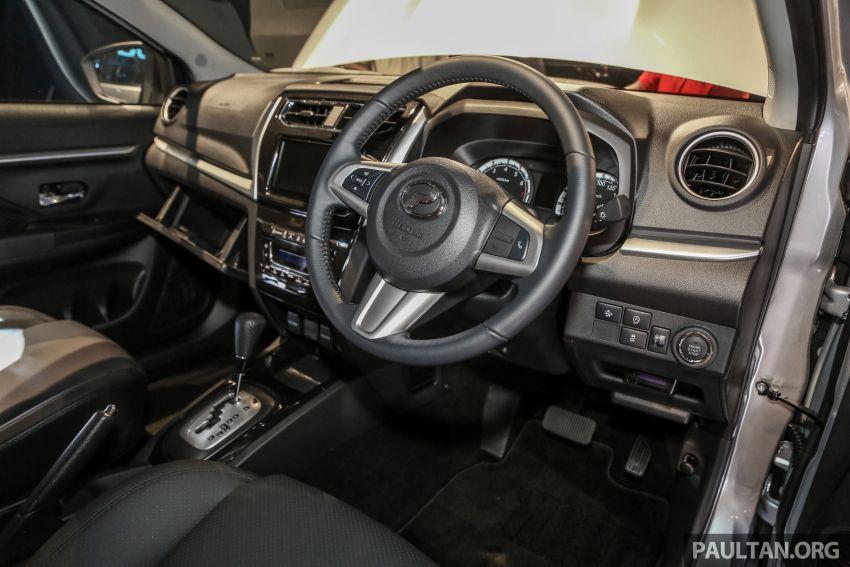 Perodua Aruz dilancar – dua varian, tujuh tempat duduk, 1.5L, ASA 2.0, harga RM72,900 dan RM77,900 Image #911450