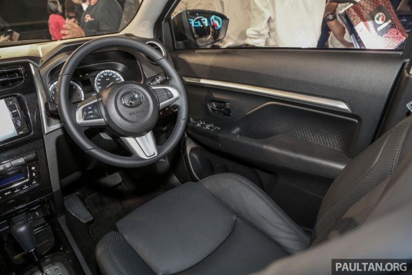Perodua Aruz dilancar – dua varian, tujuh tempat duduk, 1.5L, ASA 2.0, harga RM72,900 dan RM77,900 Image #911468