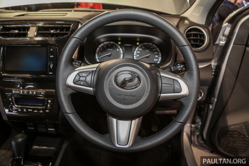 Perodua Aruz dilancar – dua varian, tujuh tempat duduk, 1.5L, ASA 2.0, harga RM72,900 dan RM77,900 Image #911452