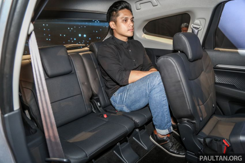 2019 Perodua Aruz SUV launched in Malaysia – seven seats; ASA 2.0; two variants; RM72,900 and RM77,900 Image #911419