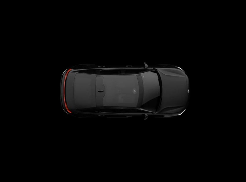 Polestar 2 electric sedan teased in app before launch Image #915603