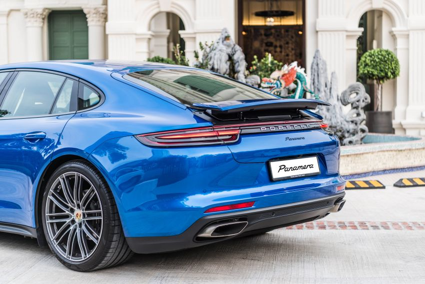 Porsche Cayenne, Panamera – new Premium Package, Power Steering Plus and PASM now standard in M'sia Image #910296
