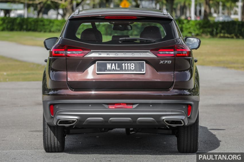 DRIVEN: Proton X70 SUV review – it's worth the hype Image #909743
