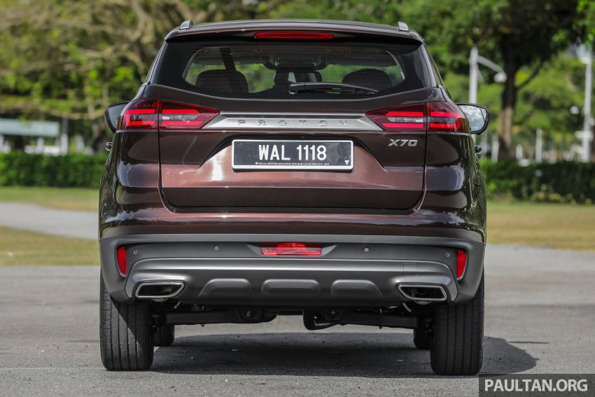DRIVEN: Proton X70 SUV review – it's worth the hype Image #909744